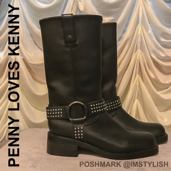 Penny Loves Kenny Shoes - 🆕SALE! NWOT Penny Loves Kenny Harness Boots Moto